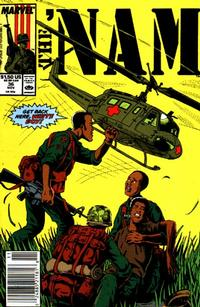 Cover Thumbnail for The 'Nam (Marvel, 1986 series) #36