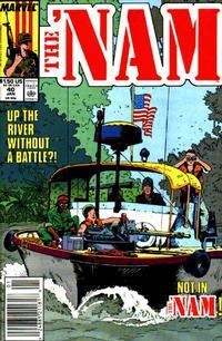 Cover Thumbnail for The 'Nam (Marvel, 1986 series) #40