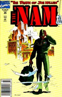 Cover Thumbnail for The 'Nam (Marvel, 1986 series) #54