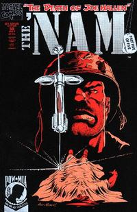 Cover Thumbnail for The 'Nam (Marvel, 1986 series) #58