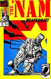 Cover Thumbnail for The 'Nam (Marvel, 1986 series) #61
