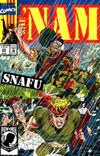 Cover Thumbnail for The 'Nam (Marvel, 1986 series) #63