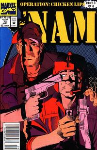 Cover Thumbnail for The 'Nam (Marvel, 1986 series) #72