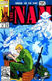 Cover Thumbnail for The 'Nam (Marvel, 1986 series) #73