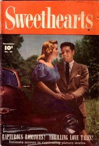 Cover Thumbnail for Sweethearts (Fawcett, 1948 series) #69