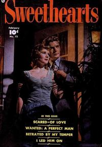 Cover Thumbnail for Sweethearts (Fawcett, 1948 series) #72