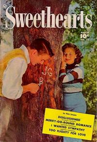 Cover Thumbnail for Sweethearts (Fawcett, 1948 series) #73