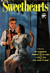 Cover Thumbnail for Sweethearts (Fawcett, 1948 series) #74