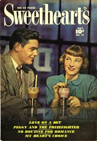 Cover Thumbnail for Sweethearts (Fawcett, 1948 series) #75