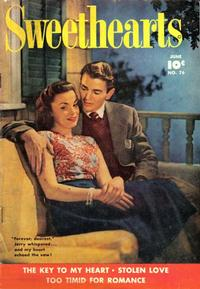Cover Thumbnail for Sweethearts (Fawcett, 1948 series) #76