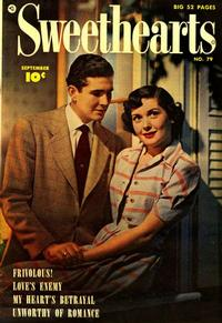 Cover Thumbnail for Sweethearts (Fawcett, 1948 series) #79