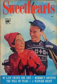 Cover Thumbnail for Sweethearts (Fawcett, 1948 series) #83