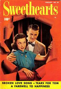 Cover Thumbnail for Sweethearts (Fawcett, 1948 series) #84
