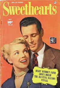 Cover Thumbnail for Sweethearts (Fawcett, 1948 series) #87