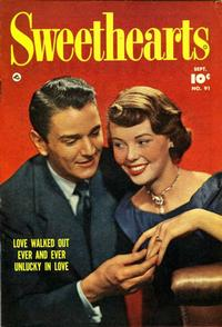 Cover Thumbnail for Sweethearts (Fawcett, 1948 series) #91