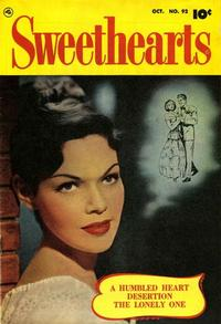 Cover Thumbnail for Sweethearts (Fawcett, 1948 series) #92
