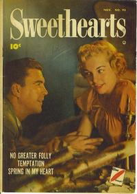Cover Thumbnail for Sweethearts (Fawcett, 1948 series) #93