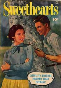 Cover Thumbnail for Sweethearts (Fawcett, 1948 series) #95