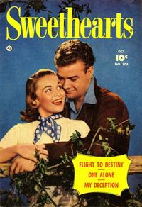 Cover Thumbnail for Sweethearts (Fawcett, 1948 series) #104