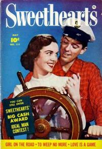 Cover Thumbnail for Sweethearts (Fawcett, 1948 series) #111