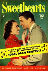 Cover Thumbnail for Sweethearts (Fawcett, 1948 series) #116