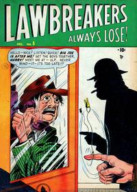 Cover Thumbnail for Lawbreakers Always Lose (Marvel, 1948 series) #5