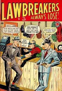 Cover Thumbnail for Lawbreakers Always Lose (Marvel, 1948 series) #6