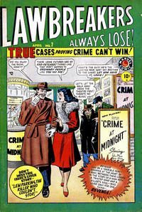 Cover Thumbnail for Lawbreakers Always Lose (Marvel, 1948 series) #7