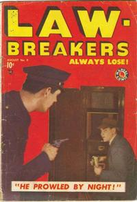 Cover Thumbnail for Lawbreakers Always Lose (Marvel, 1948 series) #9