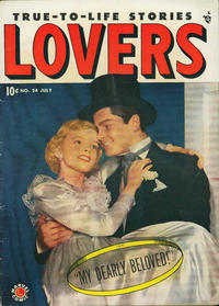 Cover Thumbnail for Lovers (Marvel, 1949 series) #24