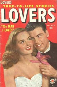 Cover Thumbnail for Lovers (Marvel, 1949 series) #25