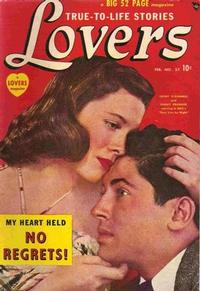 Cover Thumbnail for Lovers (Marvel, 1949 series) #27
