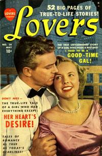 Cover Thumbnail for Lovers (Marvel, 1949 series) #28