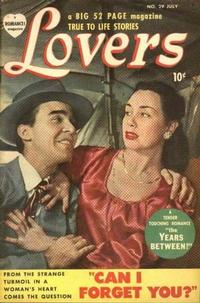 Cover Thumbnail for Lovers (Marvel, 1949 series) #29