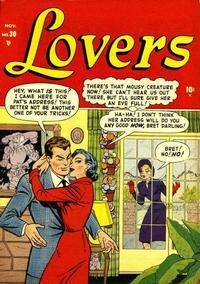 Cover Thumbnail for Lovers (Marvel, 1949 series) #30