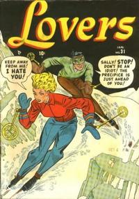 Cover Thumbnail for Lovers (Marvel, 1949 series) #31