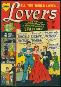 Cover Thumbnail for Lovers (Marvel, 1949 series) #32