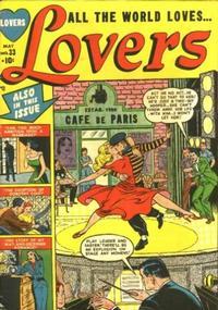 Cover Thumbnail for Lovers (Marvel, 1949 series) #33
