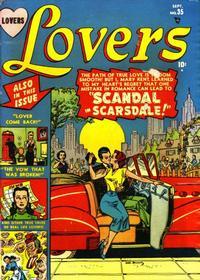 Cover Thumbnail for Lovers (Marvel, 1949 series) #35