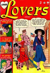 Cover Thumbnail for Lovers (Marvel, 1949 series) #37