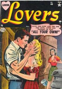 Cover Thumbnail for Lovers (Marvel, 1949 series) #40