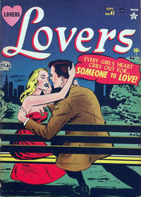 Cover Thumbnail for Lovers (Marvel, 1949 series) #41