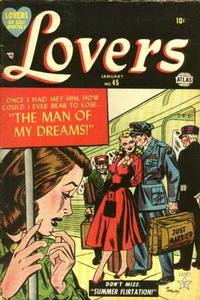 Cover Thumbnail for Lovers (Marvel, 1949 series) #45