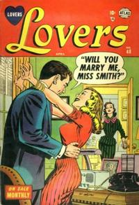 Cover Thumbnail for Lovers (Marvel, 1949 series) #48