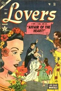 Cover Thumbnail for Lovers (Marvel, 1949 series) #51