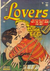 Cover Thumbnail for Lovers (Marvel, 1949 series) #54