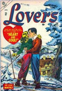 Cover Thumbnail for Lovers (Marvel, 1949 series) #57