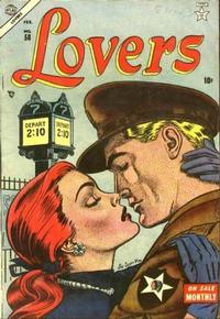 Cover Thumbnail for Lovers (Marvel, 1949 series) #58