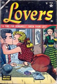 Cover Thumbnail for Lovers (Marvel, 1949 series) #61