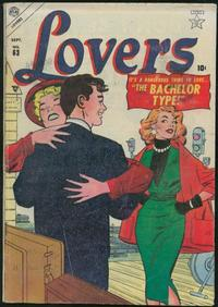 Cover Thumbnail for Lovers (Marvel, 1949 series) #63